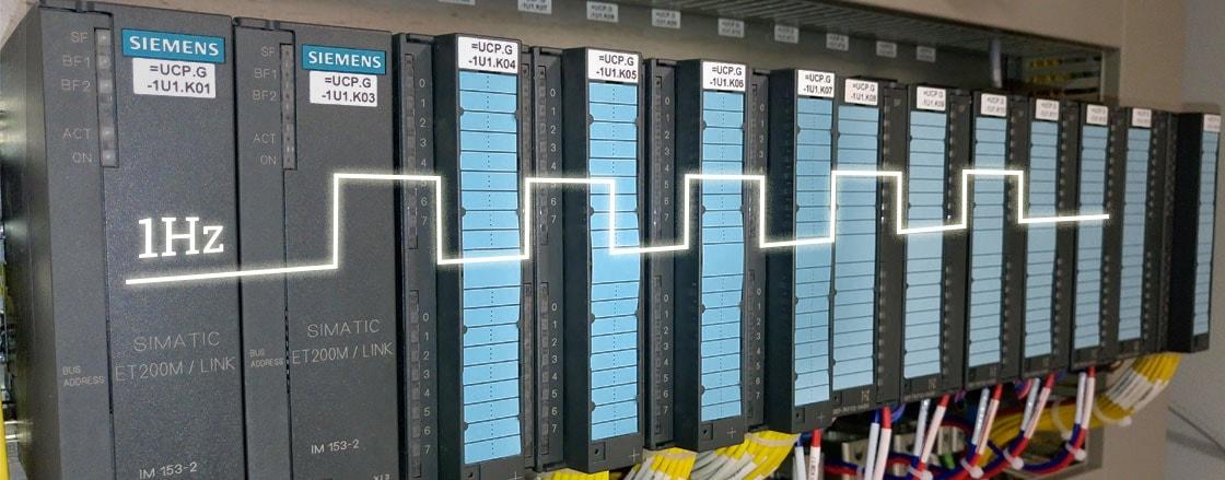 Pulse generator done in PLC