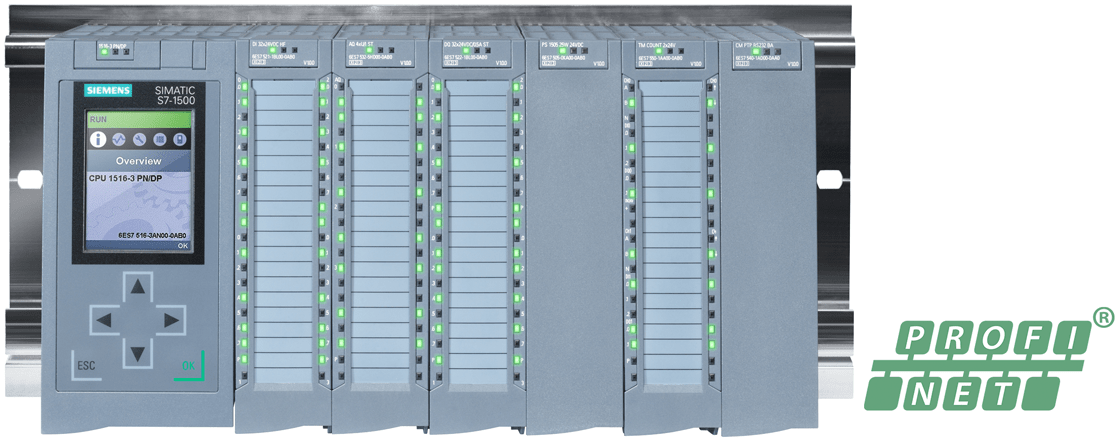 Change IP Adress of S71500 / 1200 CPU. Image credit: SIEMENS.