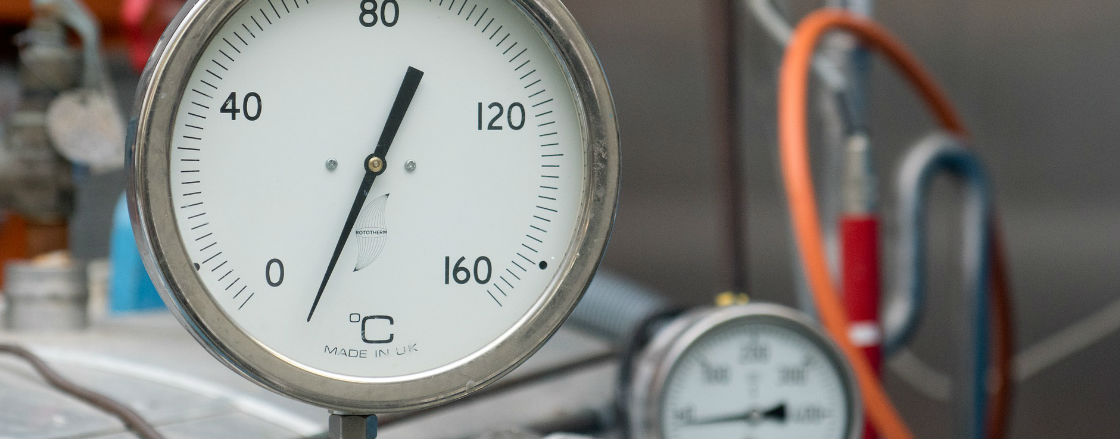 Temperature measurement instruments in the industry