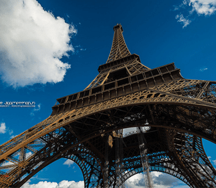 <p>The Eiffel Tower is officially 324 meters high but it's height changes depending on the season. In hot summer days thermal expansion causes the metal to grow and the tower can get with more than 15cm taller.</p>