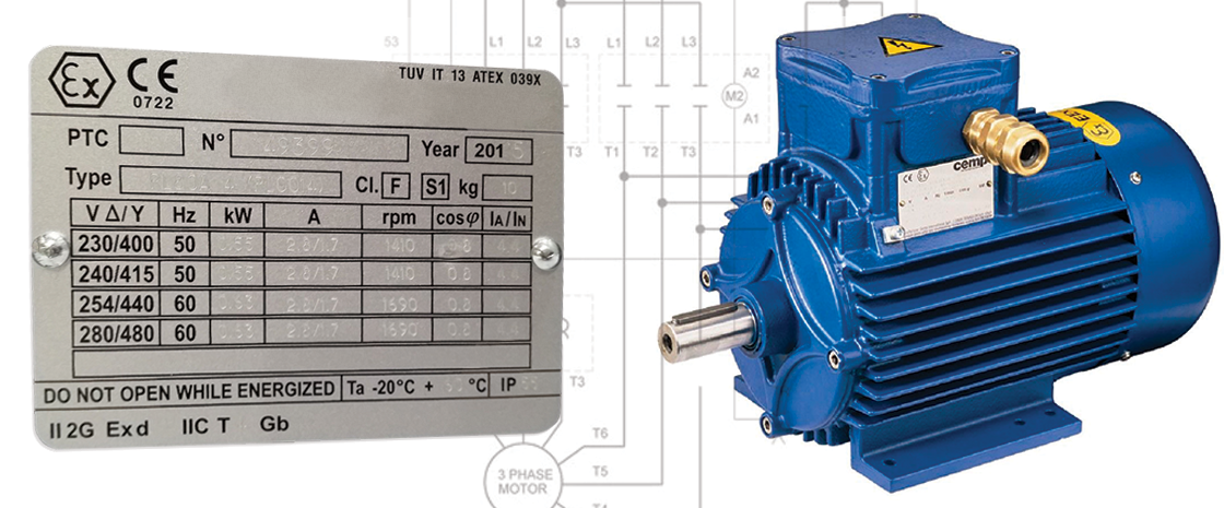 Electric Motor Nameplates The Most Essential Information
